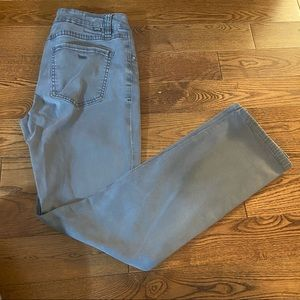 JAG women's grey straight leg jeans in size 4